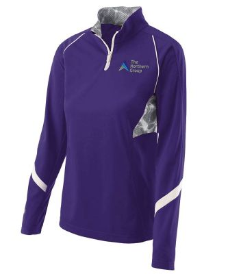 The Northern Group Ladies Tenacity Pullover-Purple