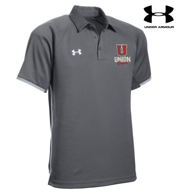 UHS Fall Fan Gear Under Armour Men's Rival Polo-Graphite