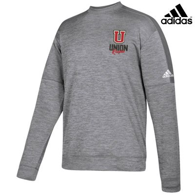 UHS Fall Fan Gear Adidas Team Issue Unisex Crewneck Sweatshirt-Grey