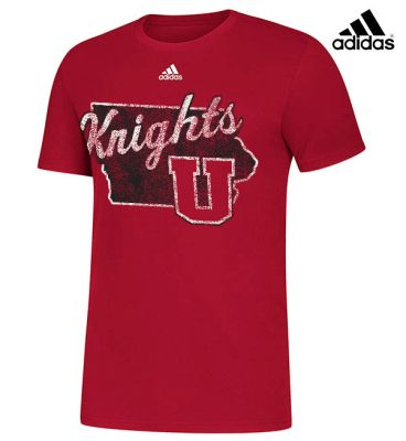 UHS Fall Fan Gear Adidas Amplifier Short Sleeve Tee-Red