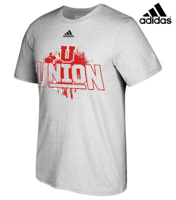 UHS Fall Fan Gear Adidas Go-to Soft Blend Short Sleeve Tee-Grey