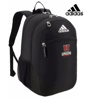 UHS Fall Fan Gear Adidas Striker II Team Backpack-Black/White