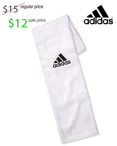 26. UNION Football Player Gear 2019 Adidas Football Towel-White