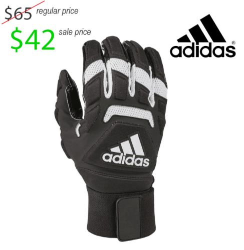 31. UNION Football Player Gear 2019 Adidas Freak Max 2.0 Padded Lineman Gloves- Black