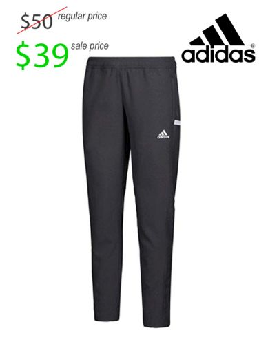 02. UNION Football Player Gear 2019 Adidas Team 19 Woven Warm-Up Pant- Black