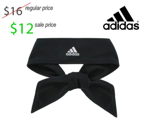 17. UNION Football Player Gear 2019 Adidas Tie Style Football Head Band-Black