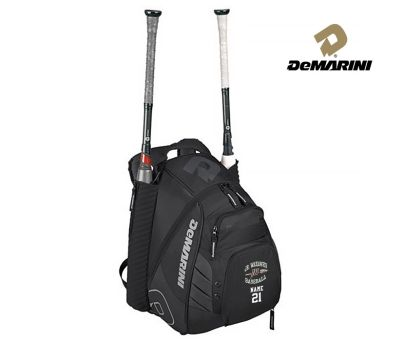 Jr. Warhawks Baseball Demarini VooDoo Rebirth Baseball Backpack-Black