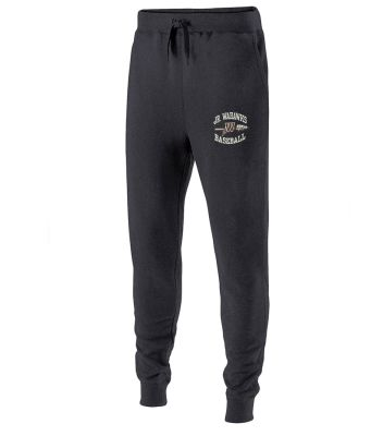 Jr. Warhawks Baseball 60/40 Fleece Jogger (men sizing)-Carbon Heather