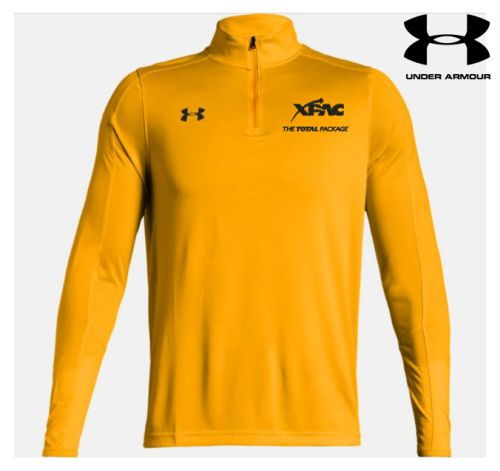 17. XPAC Under Armour Men's Lightweight Locker 1/4 Zip-Steeltown Gold