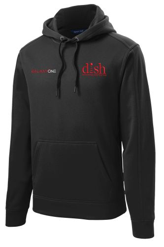 D: Galaxy One Repel BLACK Hooded Pullover-TECHNICIAN FIELD APPROVED