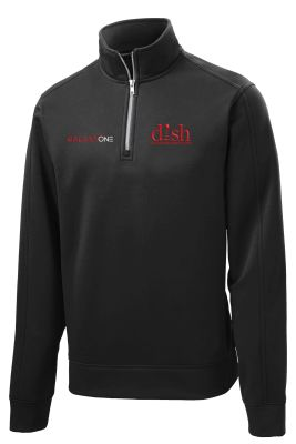 Galaxy One Repel BLACK 1/4 Zip Pullover-TECHNICIAN FIELD APPROVED