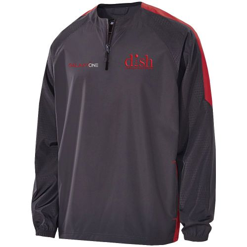 H: Galaxy One Carbon/Scarlet Bionic Pullover- TECHNICIAN FIELD APPROVED